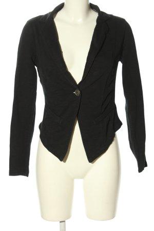 Street One Blazer in jersey nero stile casual