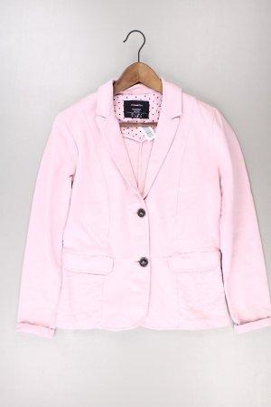 Street One Jersey blazer lichtroze-roze-roze-neonroos Katoen