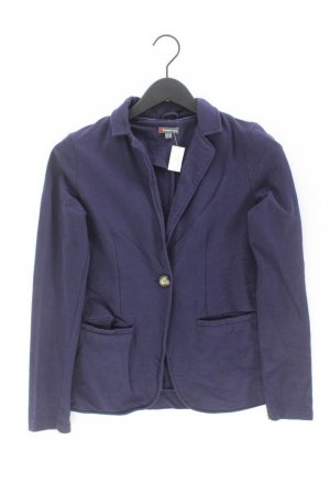 Street One Jersey blazer blauw-neon blauw-donkerblauw-azuur Katoen