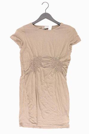 Street One Jerseykleid Größe 38 Kurzarm braun aus Viskose