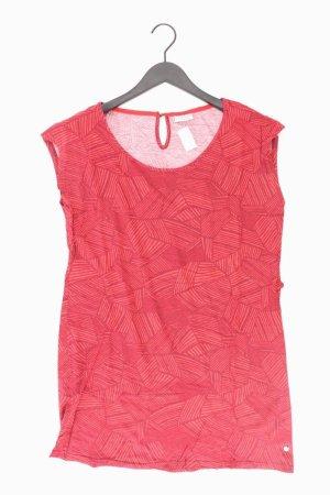 Street One Jerseykleid Größe 40 Kurzarm rot aus Baumwolle