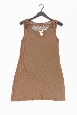 Street One Jerseykleid Größe 42 neuwertig Träger braun aus Viskose