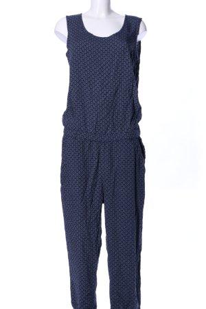 Street One Jumpsuit blau-schwarz Mustermix Casual-Look