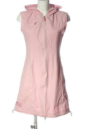 Street One Robe à capuche rose style décontracté