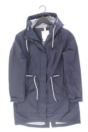 Street One Manteau à capuche bleu-bleu fluo-bleu foncé-bleu azur polyester