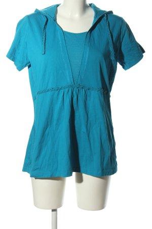Street One Koszulka z kapturem niebieski W stylu casual