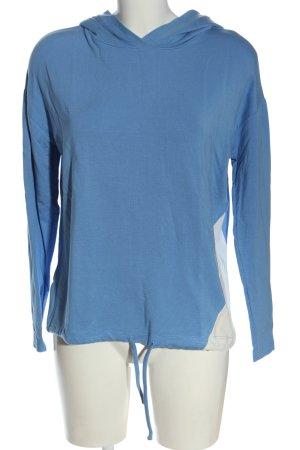 Street One Bluza z kapturem niebieski W stylu casual