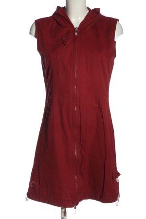 Street One Smanicato con cappuccio rosso stile casual