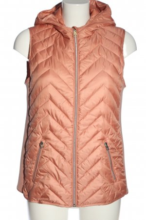 Street One Hooded Vest pink quilting pattern casual look