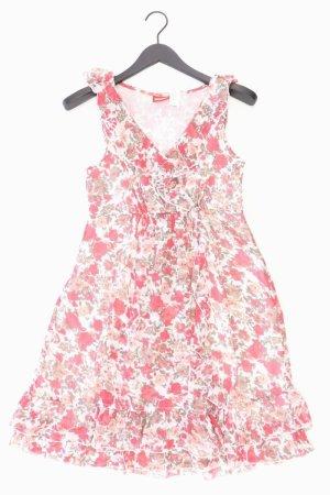 Street One Kleid rot Blumenmuster Größe 38