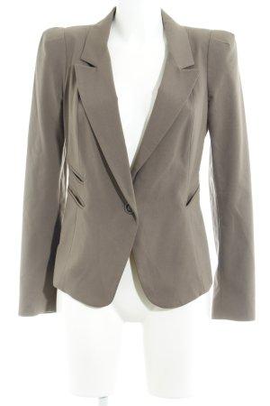 Street One Korte blazer grijs-bruin zakelijke stijl