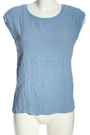 Street One Camicetta a maniche corte blu puntinato stile casual