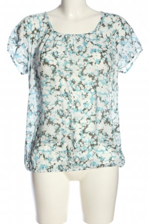 Street One Kurzarm-Bluse Blumenmuster Casual-Look