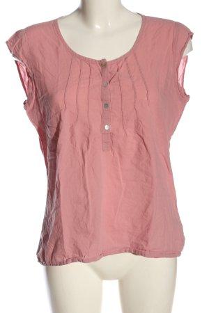 Street One Kurzarm-Bluse pink Elegant