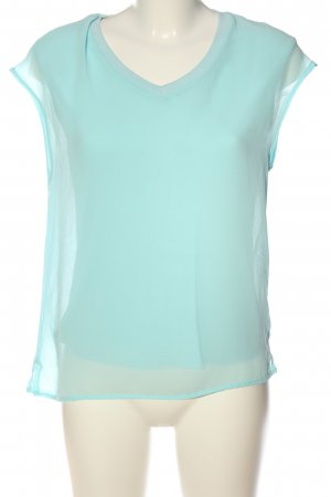 Street One Short Sleeved Blouse turquoise elegant