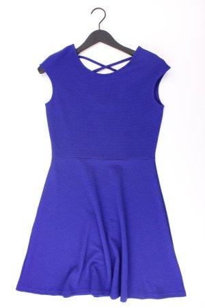 Street One Kurzarmkleid Größe 36 neuwertig blau aus Polyester
