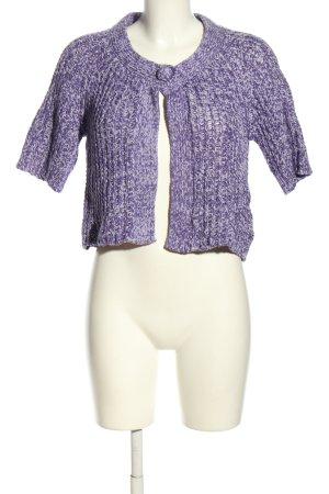 Street One Cardigan à manches courtes violet style décontracté