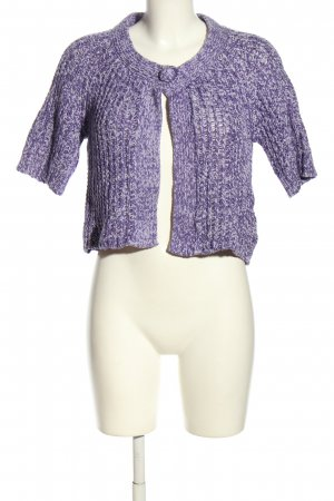 Street One Short Sleeve Knitted Jacket lilac casual look