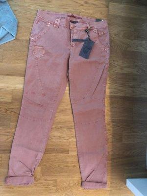Street One Jeans da motociclista multicolore Cotone