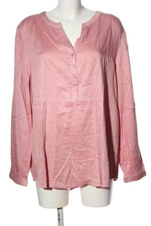 Street One Langarm-Bluse pink Business-Look