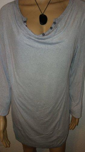 Street One Waterval shirt lichtgrijs-grijs
