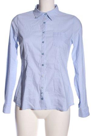 Street One Langarmhemd blau-weiß Streifenmuster Casual-Look