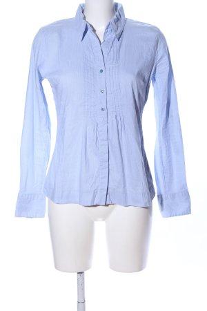 Street One Langarmhemd blau Business-Look