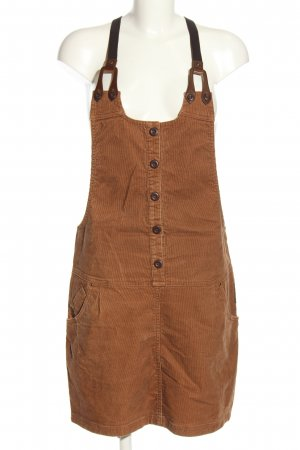 Street One Pinafore Overall Skirt brown casual look