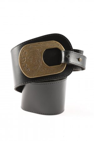 Street One Leather Belt black-bronze-colored business style