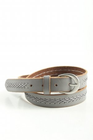 Street One Leather Belt light grey casual look