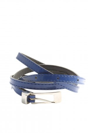 Street One Faux Leather Belt blue casual look