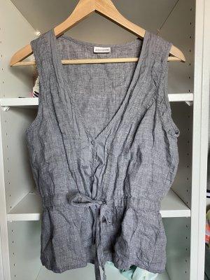 Street One Gilet tricoté gris clair-argenté