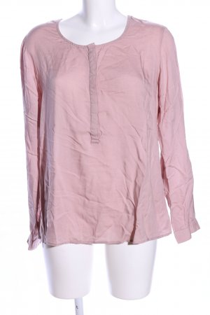 Street One Linen Blouse pink casual look