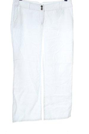 Street One Pantalón de lino blanco look casual