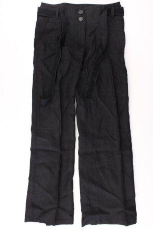 Street One Linen Pants black linen