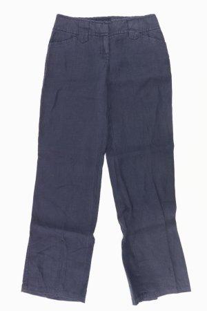 Street One Linen Pants blue-neon blue-dark blue-azure linen