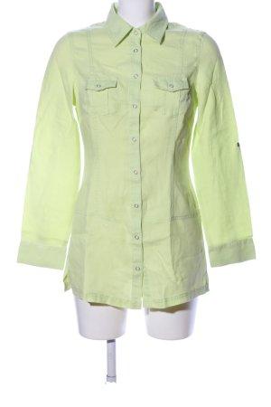 Street One Long-Bluse grün Casual-Look