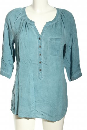 Street One Long-Bluse blau Casual-Look