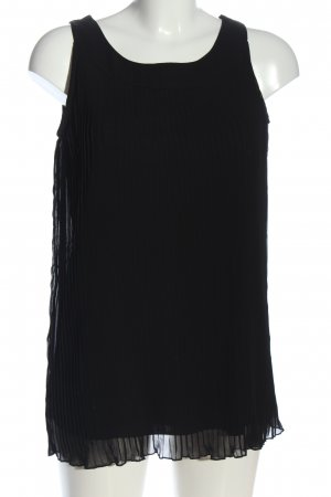 Street One Lange blouse zwart zakelijke stijl