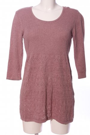 Street One Jersey largo rosa look casual