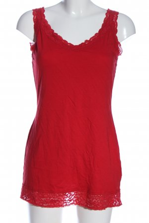 Street One Lange top rood casual uitstraling