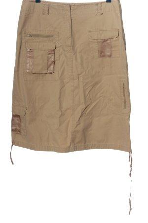 Street One Spódnica midi w kolorze białej wełny-brązowy W stylu casual