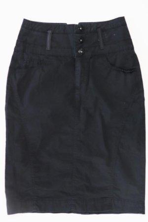 Street One Spódnica midi czarny Bawełna