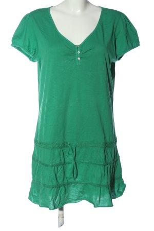 Street One Minikleid grün Casual-Look