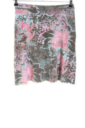 Street One Minirock Blumenmuster Casual-Look