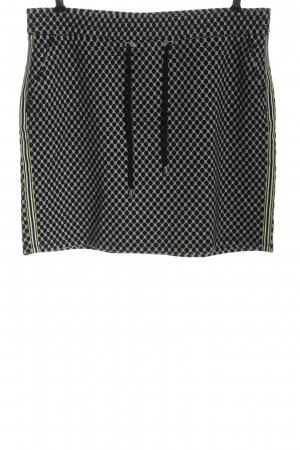 Street One Mini rok zwart-wit volledige print casual uitstraling