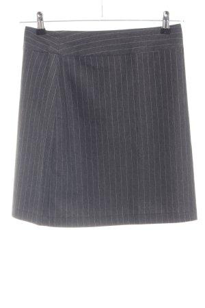Street One Mini rok lichtgrijs volledige print zakelijke stijl