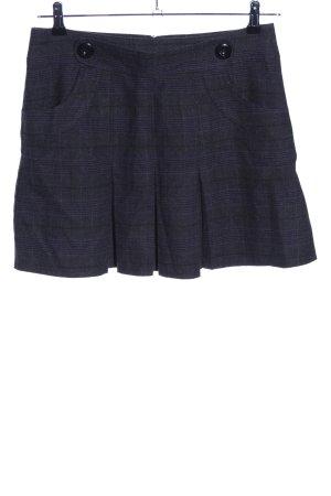 Street One Mini rok zwart geruite print casual uitstraling