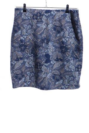 Street One Mini rok blauw volledige print casual uitstraling