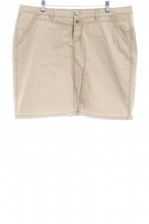 Street One Mini rok camel casual uitstraling
